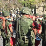 Mexico Flag Day Army Buglers