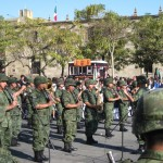 Mexico's Flag Day Army Band