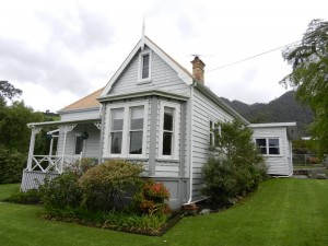 Villa north of Thames, New Zealand