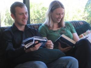 Josh Wharton and Miriam Wharton