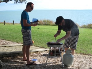 Thames-Coromandel District Council Planning Team Barbeque