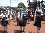Auckland Anniversary Day, Bagpipe Band