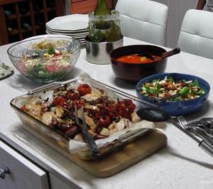 Potluck Dinner at Thames Gay Group