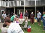 Thames Baptist Church's weekly summer BBQ